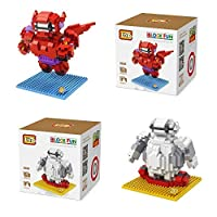 [LOZ]LOZ 960102 2 Set Baymax Big Hero 6 920pcs Building Blocks 3d DIY Bricks Toys [並行輸入品]
