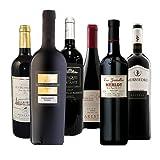 【厳選】濃い味フルボディ 果実味たっぷり濃厚赤ワイン飲み比べ6本セット 750ml×6本