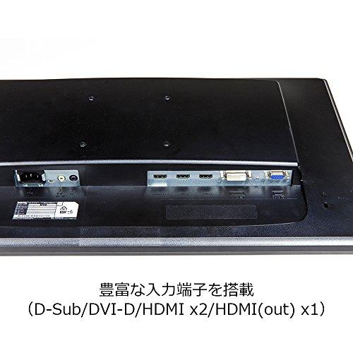 『BenQ ZOWIE ゲーミングモニター RL2460S (格闘ゲームに最適/24インチ/TN/1ms/フルHD/HDMI out端子付/Black eQualizer/スピーカー付/高さ調整)』の4枚目の画像