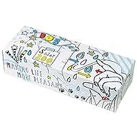 驚異の防臭袋 BOS (ボス) おむつが臭わない袋 Sサイズ 大容量 200枚入り 赤ちゃん用 おむつ 処理袋【ポップ柄/袋カラー:白色】