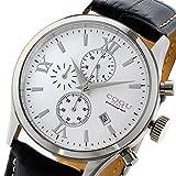 コグ COGU クオーツ クロノ メンズ 腕時計 C65-WH ホワイト 腕時計 低価格帯ウォッチ コグ mirai1-531150-ak [並行輸入品] [簡易パッケージ品]