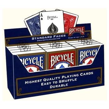 BICYCLE(バイスクル) ライダーバック STANDARD トランプ 12個パック(青6個/赤6個))