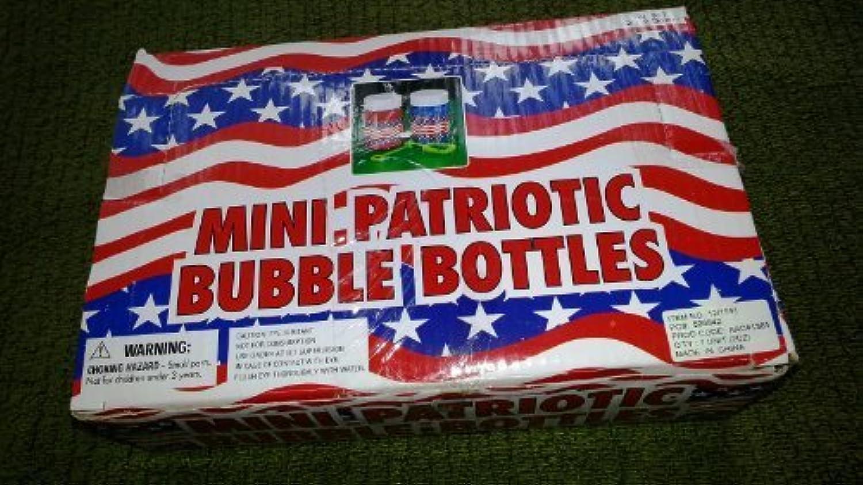 Mini Patriotic Bubble Bottles: American Flag Fun! [並行輸入品]