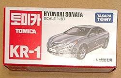 【韓国トミカ KR-01】ヒュンダイ ソナタ グレー 並行輸入品