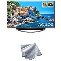 シャープ 45V型 4K対応液晶テレビ AQUOS HDR対応 4T-C45AJ1 (クリーニングクロス付)