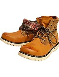(リベルト エドウィン) LIBERTO EDWIN ワークブーツ スノーブーツ レイン シューズ ブーツ 防水 防寒 折り返し メンズ 靴