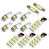【断トツ204発!!】 KB1/2 レジェンド LED ルームランプ 12点セット [H16.10~H24.7] ホンダ 基板タイプ 圧倒的な発光数 3chip SMD LED 仕様 室内灯 カー用品 HJO