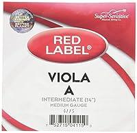 スーパーセンシティブレッドラベル4115 Viola A String、Intermediate