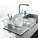 洗い桶付き水切りラック 4点セット H14305(サイズはありません ア:ステンレス)