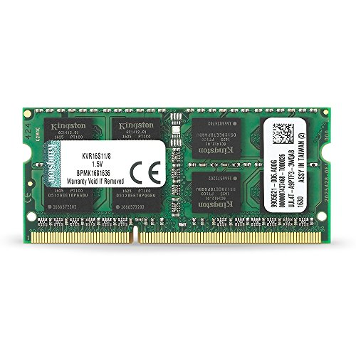 Kingston ノートPC用メモリ DDR3-1600 (PC3-12800) 8GB CL11 1.5V Non-ECC SO-DIMM 204pin KVR16S11/8 永久保証