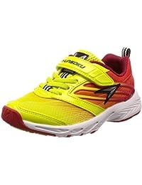 [シュンソク] 運動靴 通学履き 瞬足 スパイク 耐久性 軽量 19~25cm キッズ 男の子 SJJ 5340 イエロー 24.5 cm 2E