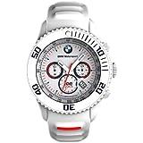 【BMW純正】BMW Motorsport ice watch クロノグラフ ホワイト (時計) 80262354181