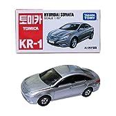 韓国 トミカ (KR-1) ヒュンダイ ソナタ(現代自動車) HYNDAI SONATA 韓国語パッケージ 日本未発売TOMIA