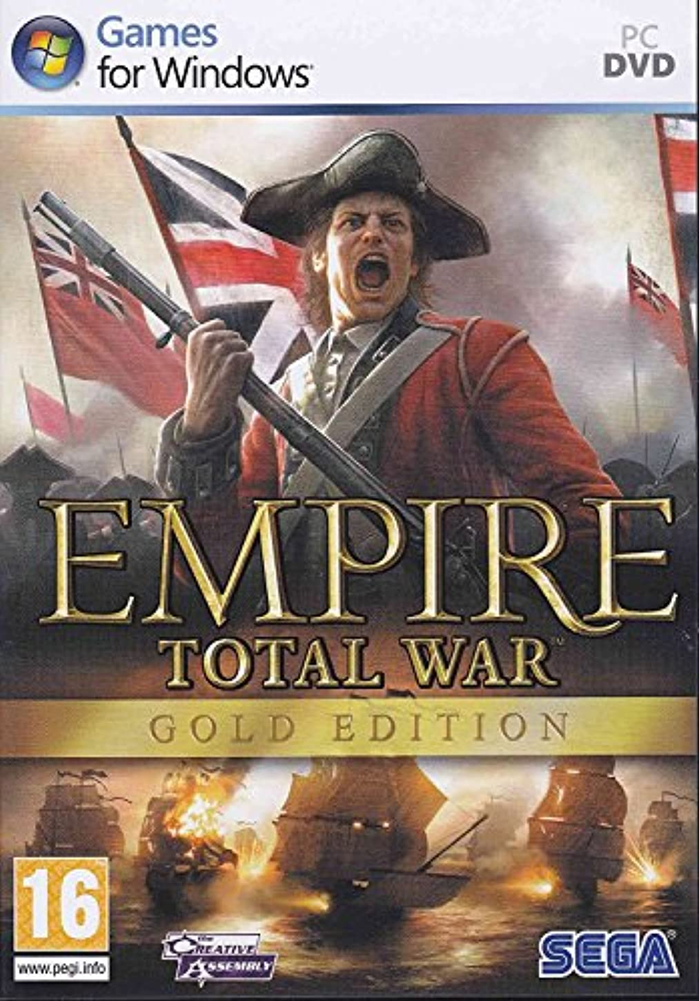暴力的な男小川Empire Total War Gold Edition (PC DVD) (輸入版)