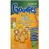 Organix Goodies Organic Mini Gingerbread Men 12mth+ (5x25g) Organixは、有機ミニジンジャーブレッド男性12Mthの+ ( 5X25G )をグッディーズ