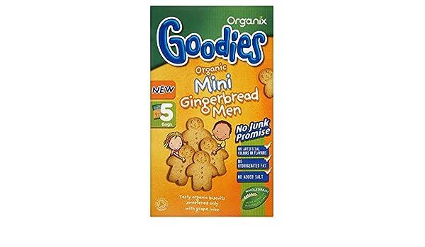 Organic Gingerbreads Men 135g Baby