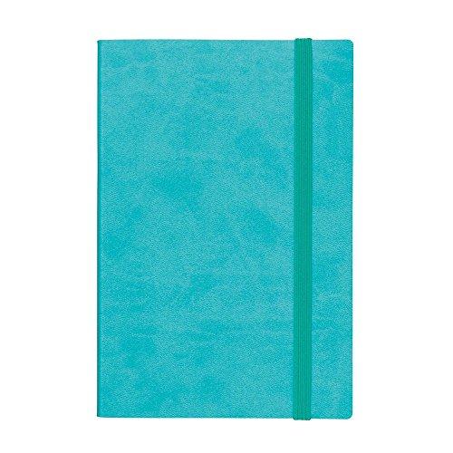 マークス EDiT 手帳 2017 1月始まり B6変型 1日1ページ スープル ターコイズブルー 17WDR-ETA01-BL