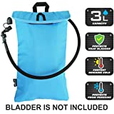 FREEMOVE Cooler Bag & Protective Sleeve for 2L or 3L Hydration Water Bladder   KEEPS WATER COOL & PROTECTS THE BLADDER   Lightweight & Water Resistant   Fits to all Backpacks   BLADDER IS NOT INCLUDED