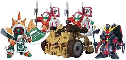 SDガンダム BB戦士 No.410 典韋アッシマー 賈詡アシュタロン 攻城兵器セット&合体武装6種(甲) 色分け済みプラモデル