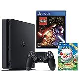 PlayStation 4 ジェット・ブラック 500GB + LEGO(R)スターウォーズ フォースの覚醒 + New みんなのGOLF ダウンロード版【Amazon.co.jp限定】オリジナルカスタムテーマ配信