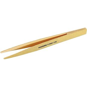 ホーザン(HOZAN) 竹ピンセット 完全非磁性 対象物を傷つけにくい 紙やすりで先端の調整が可能 P-860-125