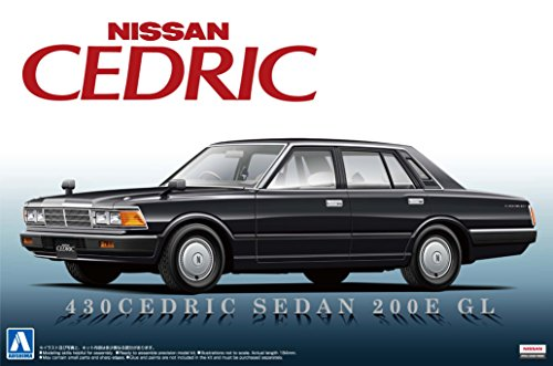 アオシマ1/24 430セドリックセダン 200E GL