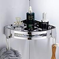 304ステンレス鋼の浴室の棚の銀製の浴室の付属品のシャワーのコーナーの棚のシャンプーの貯蔵の棚の浴室のバスケットのホールダー