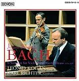 バッハ:ヴァイオリンとチェンバロのためのソナタ全集 画像