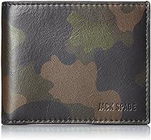 [ジャック・スペード] 折り財布 CAMO LEATHER SLIM BILLFOLD 二つ折り財布 W6RU0307 972 CAMO