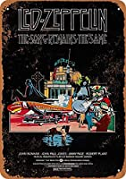 1976年レッド・ツェッペリンザ・ソング・メインズザ・ザ・ヴィンテージ・メタル・サイン