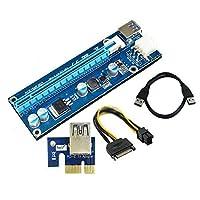 Qjoy PCI - E 1X 1to 3ポート1xスイッチ乗数Expanderハブライザー拡張カードcsug