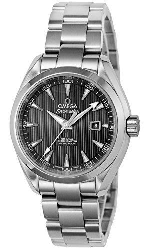 [オメガ]OMEGA 腕時計 シーマスターアクアテラ ブラッ...