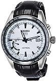 [アストロン]ASTRON 腕時計 ASTRON GPSソーラー電波 ワールドタイム機能 チタンモデル ホワイト文字盤 クロコダイル革バンド SBXB093 ..