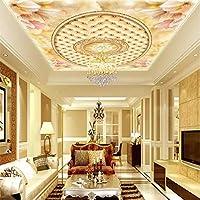 Bzbhart 3Dの壁紙カスタマイズされた写真の壁紙の花の大理石のソフトバッグ壁の3Dのための天井の壁紙-450cmx300cm