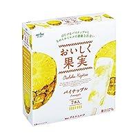 オハヨー乳業 おいしく果実 パイナップル40ml×7本×8箱