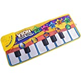 MagiDeal Electric Piano Keyboard Animal Floor Mat For Child Musical Toy