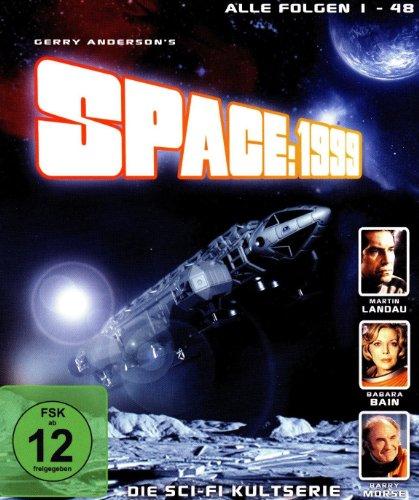 SPACE: 1999 ( Mondbasis Alpha 1 ) Sammler-Box Vol.1 bis Vol. 4 - Folge 1 - 48