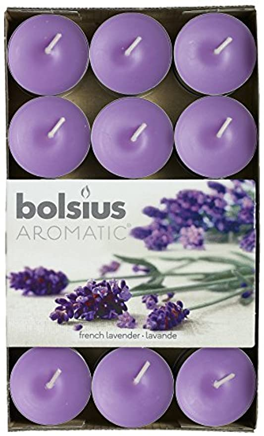 建物に誓約Aromatic French Lavendar Scented Tealight, Paraffin Wax, Purple by Aromatic