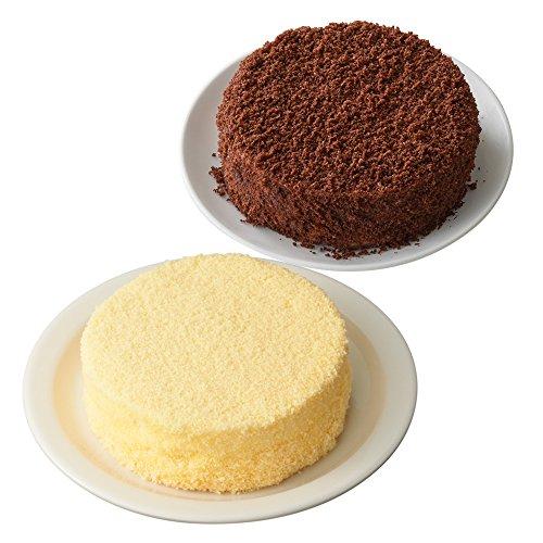 【Amazon.co.jp限定】 ルタオ (LeTAO) チーズケーキ 奇跡の口どけセット (ドゥーブルフロマージュ ショコラドゥーブル)
