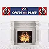 Own The Mat - Wrestling - Wrestler Party Decorations Party Banner