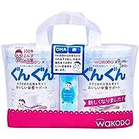 和光堂 フォローアップミルク ぐんぐん 粉ミルク 830g×2缶 (おまけ付き)