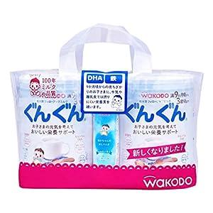 和光堂フォローアップミルク ぐんぐん830g×2缶パック (おまけ付き)