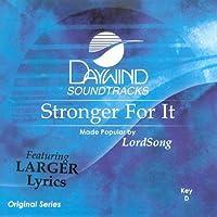 Stronger For It [Accompaniment/Performance Track]【CD】 [並行輸入品]