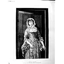 1883 旧式な肖像画のトロッコの Varden エドガー Hanley の芸術