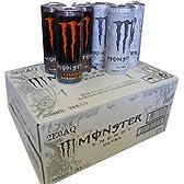 モンスターエナジードリンク カオスとウルトラ ハーフ&ハーフ 355ml缶×24本入り 1ケース