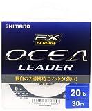 シマノ(SHIMANO) ショックリーダー オシア EX フロロカーボン 30m 5号 20lb クリア CL-O26L