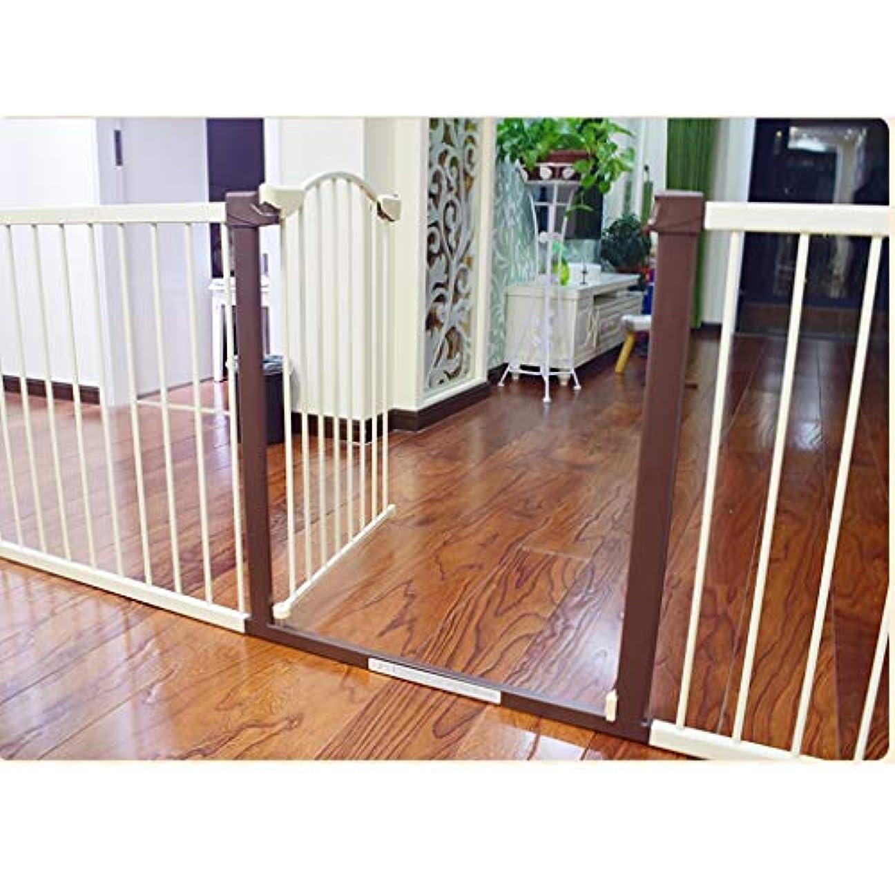 例外海岸属性育児 ベビーゲート キッズ階段の安全性門オート閉じることができます拡張犬ペットバリアホーム戸口階段ガードレール ベビーフェンス (Size : 80-85cm)