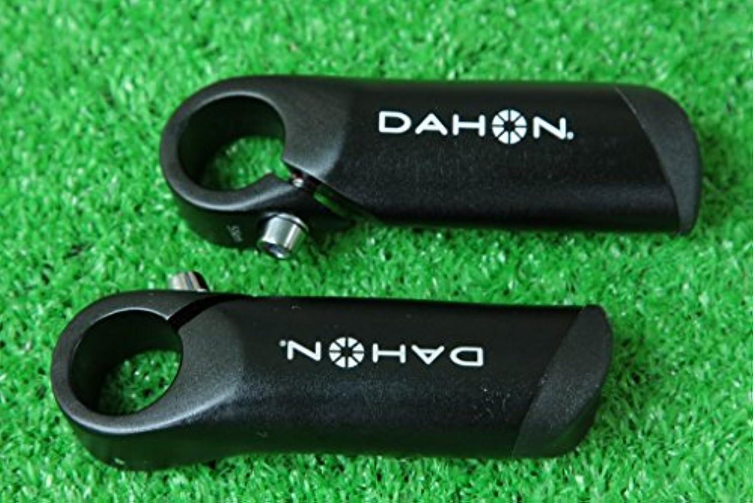 悪のずっと宙返りダホン 純正 DAHON アルミ6061 軽量 バーエンド 3D 鍛造 Φ22.2mm ブラック