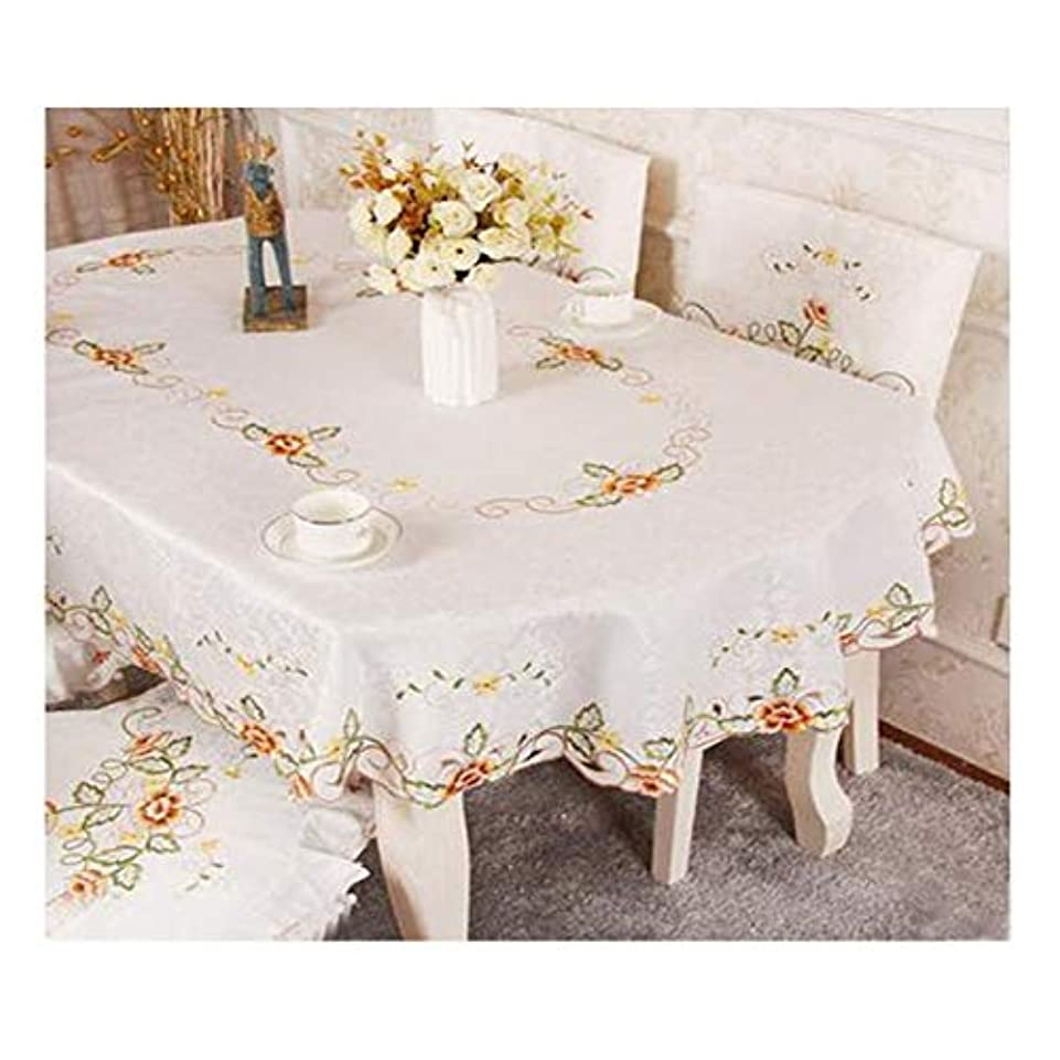 死にかけている作者距離HMSH テーブルクロス、テーブルクロスラウンド、ダイニングテーブル、お祝いのディナーに適しています。ホームSupplie。サイズ:52 * 70インチ、54.4 * 39.2インチ。カラー:ベージュ、ブルー、レッド、ホワイト テーブルクロス (Color : Red, Size : 52*70 inch)
