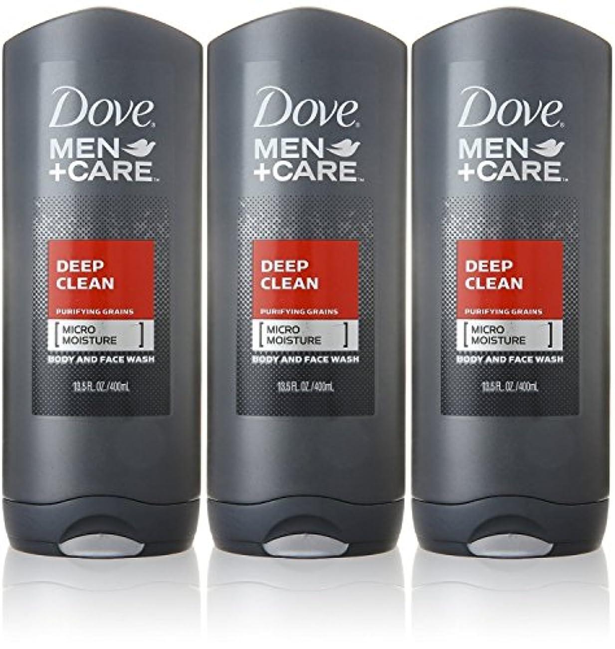 Dove Deep Clean Mens Body Wash, 13.5 Ounce -- 3 per case. by Dove
